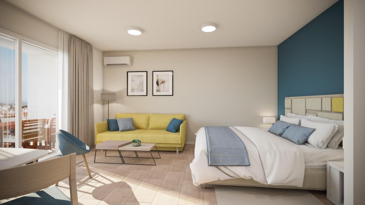 Studio Apartment with Balcony Arancini